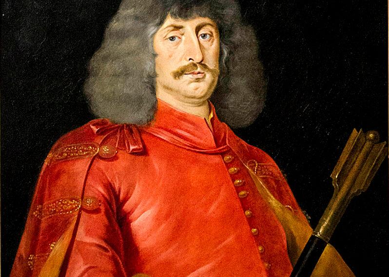 Zrínyi Miklós, Jan Thomas festménye
